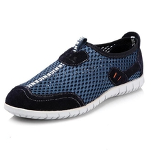 Men Sandals Nice New Arrive Men Casual Sandals Super Breathable Skynet Lightweight Summer Shoes Mesh Men Casual Shoe P155