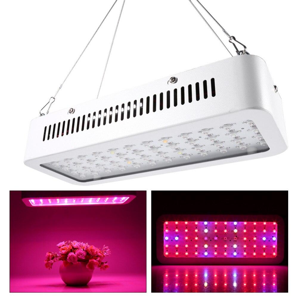 85-265V Grow Light 600W Full Spectrum 60 LED Plant Grow Full Spectrum Light Hydroponics Vegs Flowering Panel Lamp