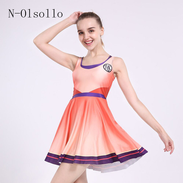 Tienda Online N-olsollo Naranja Degradado Plisada Vestidos de Fiesta ...