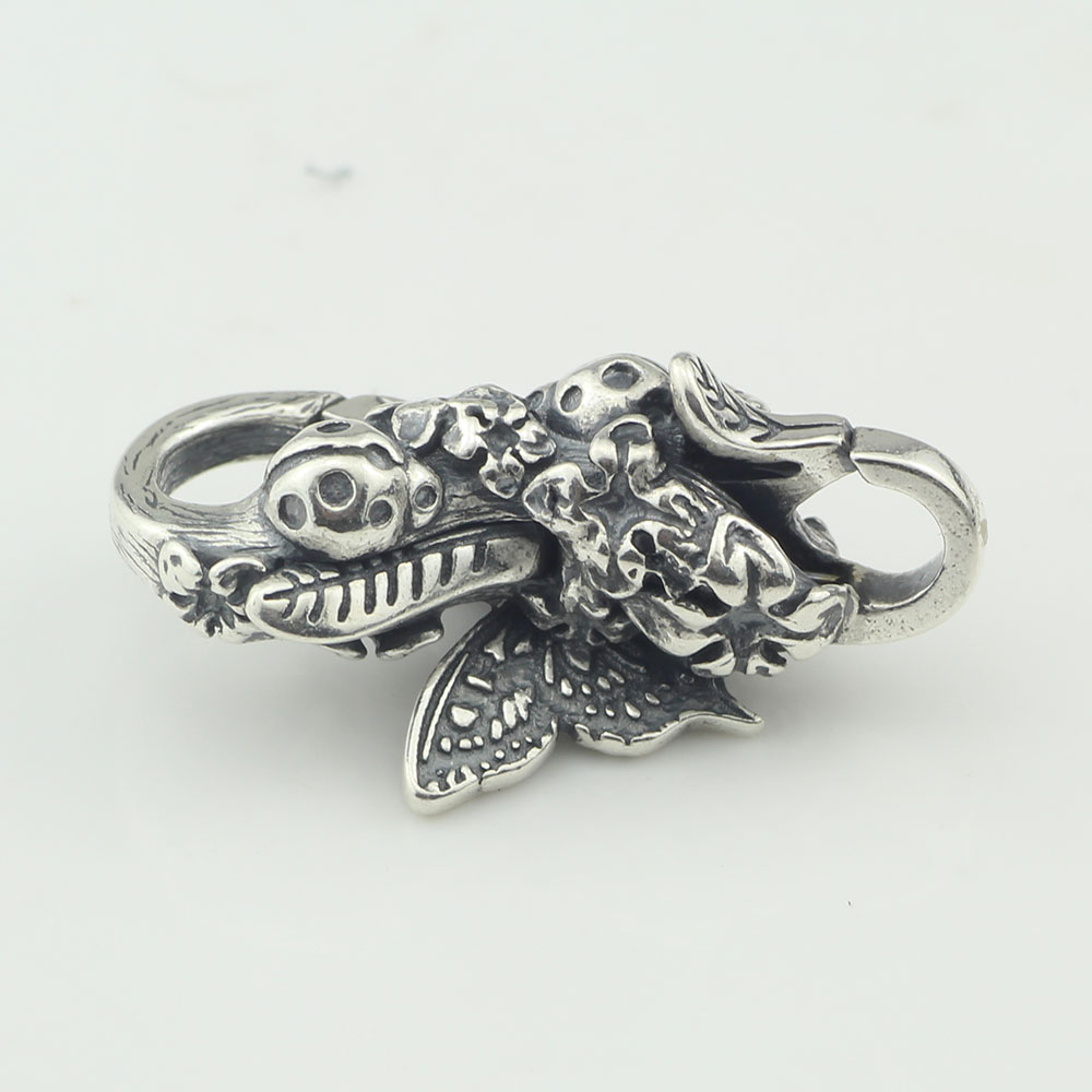 Mistletoe 925 Sterling Silver Papillon Lock Butterfly European Jewelry