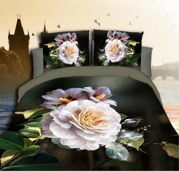 Лучший. WENSD домашний текстиль в западном стиле, свадебный подарок, двойные постельные принадлежности из бамбукового волокна, пододеяльник + ...