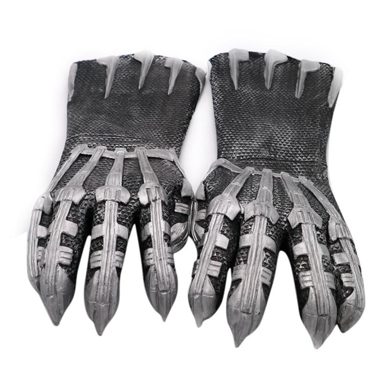 ブラックパンサーラテックス手袋コスプレ衣装小道具アクセサリー鎧