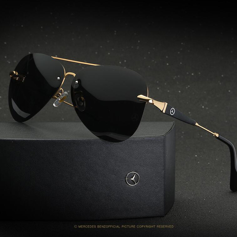 Polarized Mercede Sunglasses Men 2019 high quality uv400 Brand