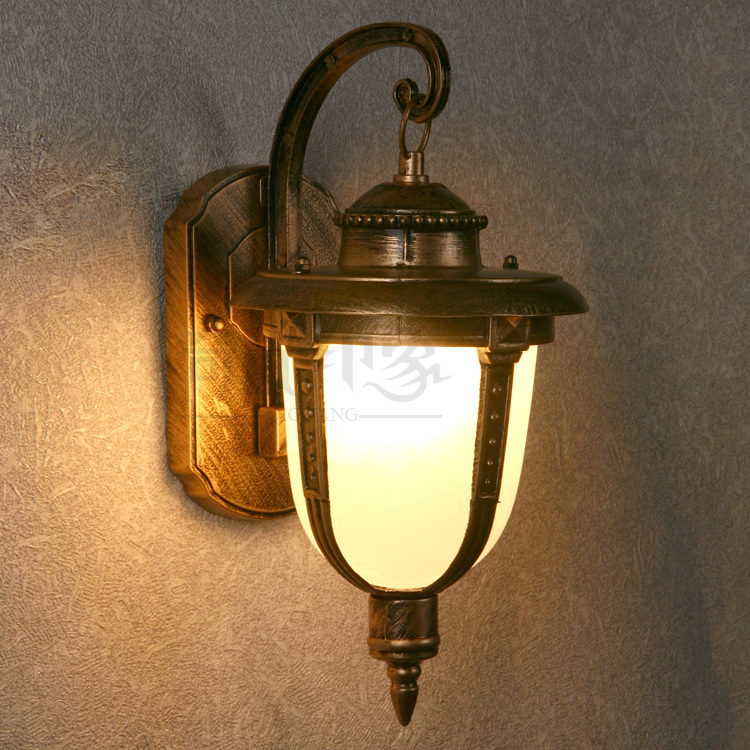 Купить free shipping vintage glass funnel wall lamps lights .