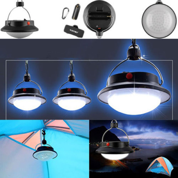 New 60 LED Portable Outdoor Light Rechargeable Led Lantern Hike Camping Hanging LampTent Umbrella Night