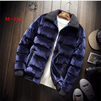 Woxingwosu new winter fashion men's parkas cotton padded jacket winter jacket to keep warm winter padded coat M-3XL фото