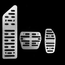 Автомобильный аксессуар акселератора газа Тормозная ног Clutc на педали для Nissan X-TRAIL 2013 педали автомобиля Pad