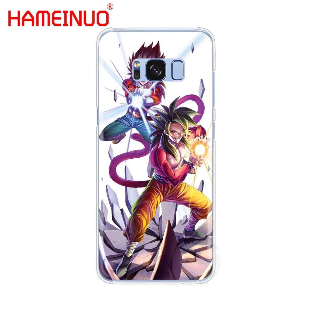 Dragon ball z hero goku super saiyan copertura della cassa del telefono delle cellule per Samsung Galaxy S9 S7 bordo PIÙ S8 S6 s5 S4 S3 MINI