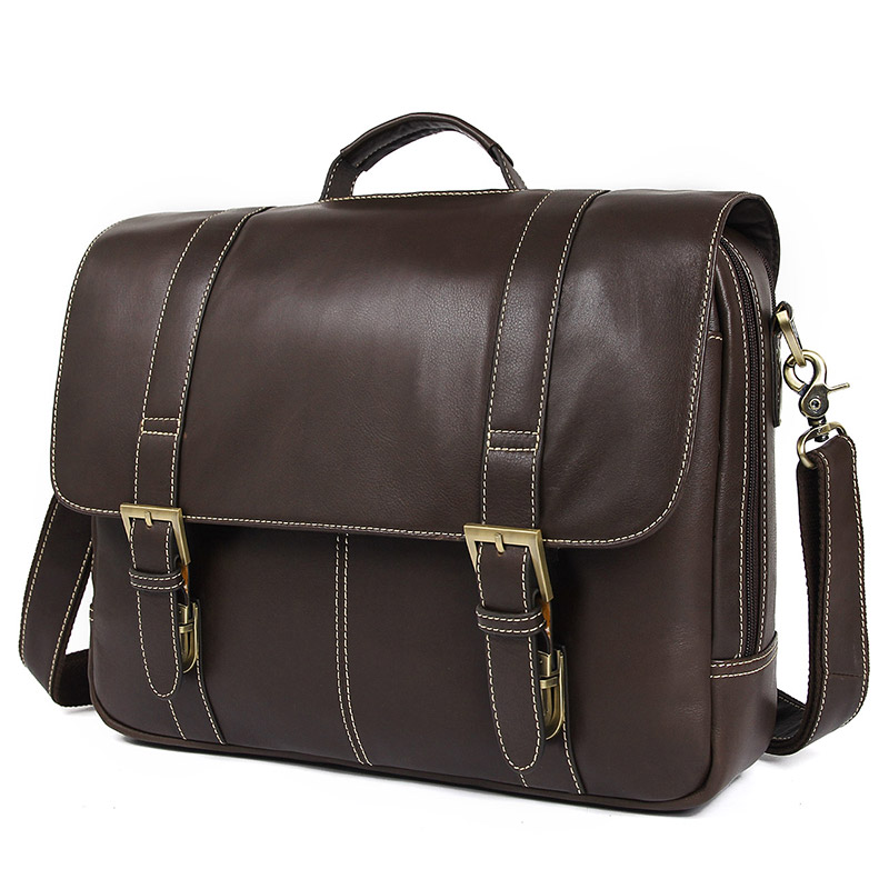 Nesitu High Quality Vintage Real Skin Genuine Leather Men Briefcase Portfolio 15.6 14 Laptop Office Men Messenger Bags M7396Nesitu High Quality Vintage Real Skin Genuine Leather Men Briefcase Portfolio 15.6 14 Laptop Office Men Messenger Bags M7396