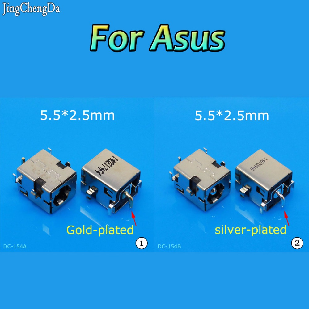 Jing Cheng Da 5.5*2.5MM NEW DC power jack For ASUS K53 K53S K53E K53S K53SV A53Z A53S K53SJ DC Connector port Socket Connector 10pcs lot original 2 5mm pin laptop dc power jack port socket connector for asus k53e k53s k53sd k53sv x53s with free shipping