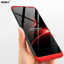 hot deal buy idools case for huawei honor 8x max new back cover 3 in 1 pc full protection phone bags cases for huawei honor 8x honor8x shell