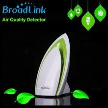 Broadlink A1 E-Teste de Detector de Qualidade do Ar do Filtro de Ar Umidade Do Ar PM2.5 Controle Remoto por WI-FI/Infravermelho Casa Sistema de automação