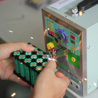 709AD Battery Spot Welding Machine 4in1 Fixed Pulse Moving Pulse Spot Welding Induction Automatic Pulse Spot