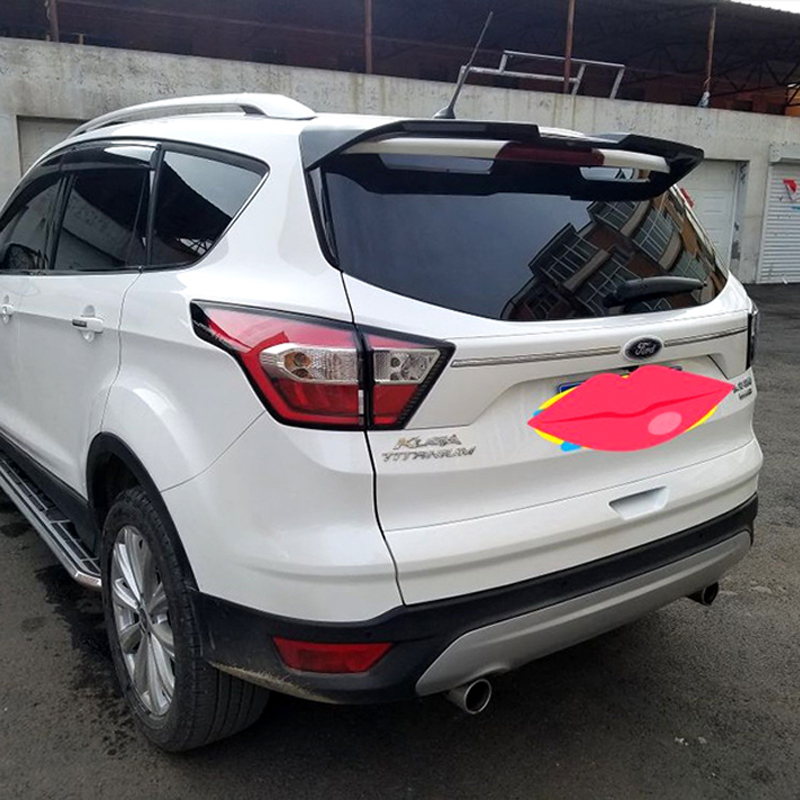 For Ford Escape Kuga Spoiler ST 2013 2014 2015 2016 2017 Car Tail Wing Decoration ABS Plastic Unpainted Rear Trunk Roof Spoiler