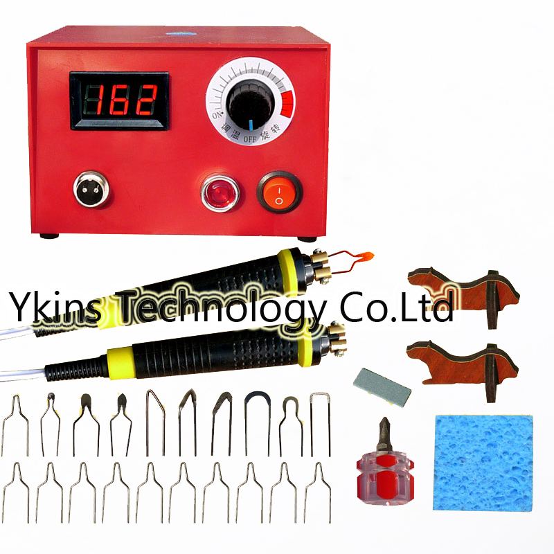 50W digital temperature Multifunction gourd pyrography machine+20pcs Pyrography iron Tips +2 Cutter pens Wooden gourd crafts free shipping multifunction gourd pyrography machine pyrography pen rendering pen 20pcs pyrography iron tips wooden gourd crafts