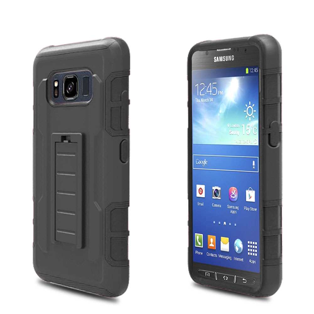 For Samsung Galaxy S8 Active Heavy Duty Shockproof Armor