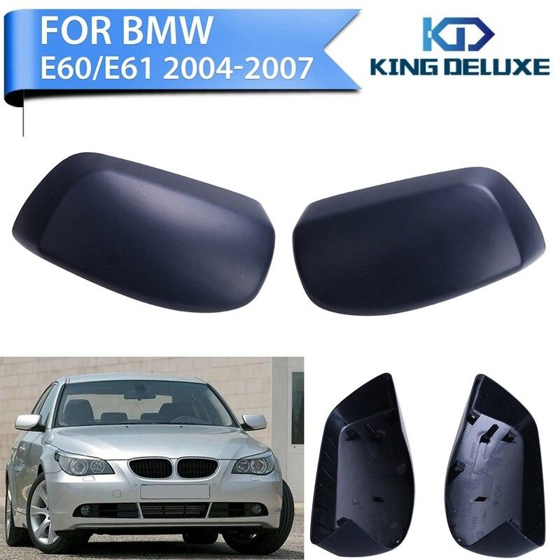 Auto Side Door RearView Mirror Cover Cap For BMW E60 E61 5 series 520i 523i 525i 530i 545i 2004-2007 Car Exterior Parts #P256