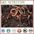Venta caliente Extracto de Proteína En Polvo de Lombriz de Tierra Natural 200 g/lote Bajo precio