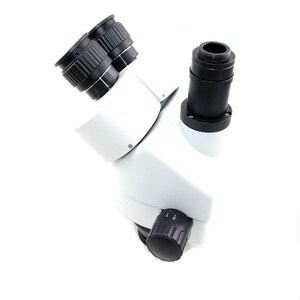 Image 4 - Цифровой микроскоп, 16 МП, 1080P, HDMI, USB, 7X 45X, симул фокальный Тринокулярный зум, стерео микроскоп, головка 20 мм, окуляр