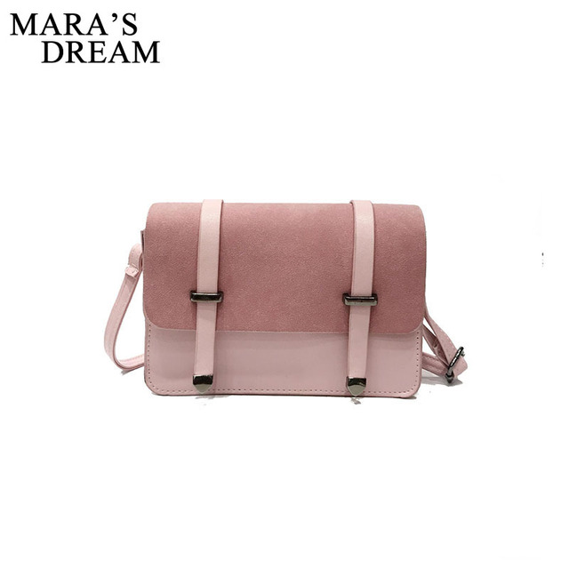 Mara S Dream Small Square Flap Bag Fashion Women Messenger Crossbody Bags Brand Design Sling Shoulder Pu