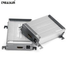 TreasLin HDMI удлинитель для DHTV проектор 100 м без потерь передача по Cat5e Cat6 один сетевой кабель 328FT HDMI отправителя