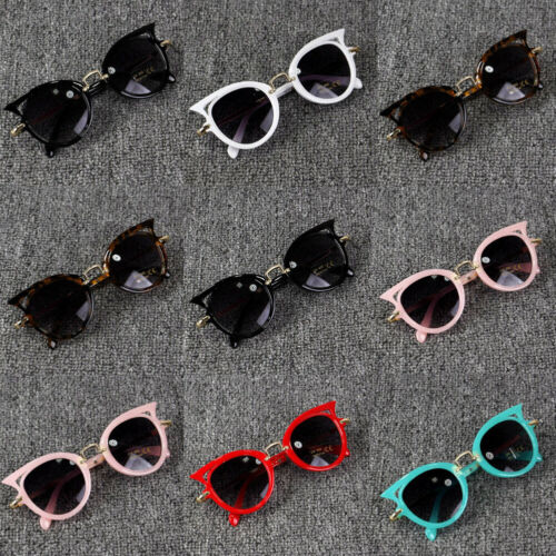 Emmababy Cute Baby Summer Accessories Kid Goggles Boy Girl Glasses Protection Outdoor Holiday Sunglasses Cat Shape Sunglasses