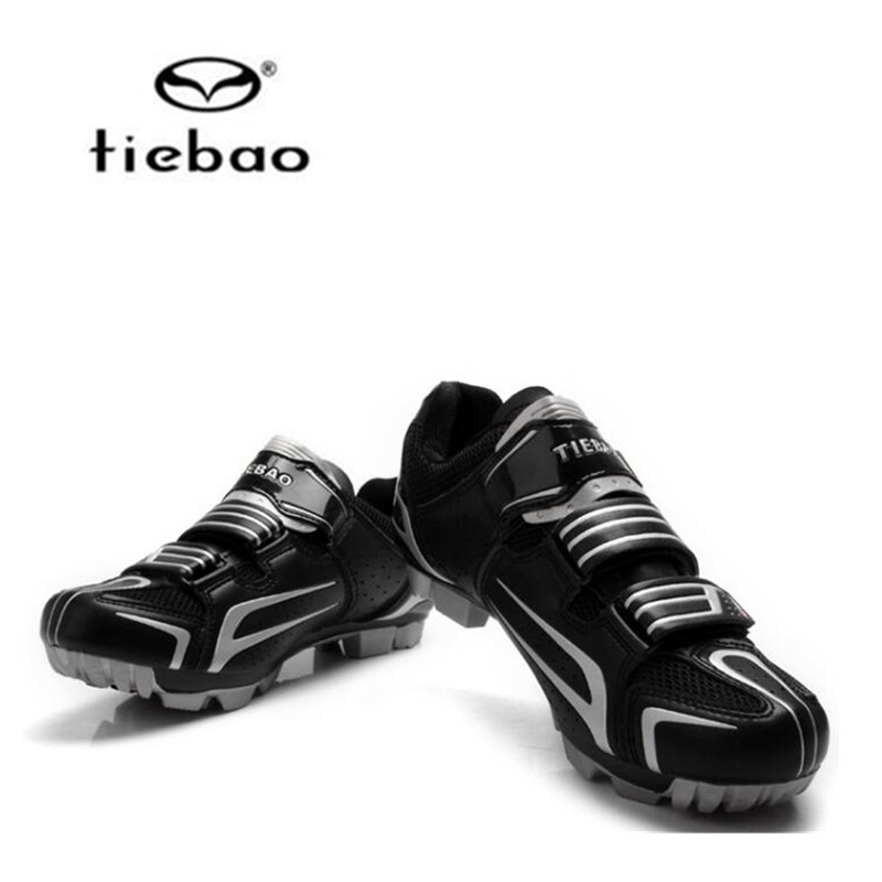 Tiebao 2018 New Zapatillas Ciclismo MTB Cycling font b Shoes b font Men Breathable Mountain Bike