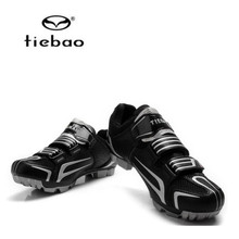 Tiebao 2018 New Zapatillas Ciclismo MTB Cycling Shoes Men Breathable Mountain Bike Riding Shoes Self-Locking Bicycle Sport Shoes