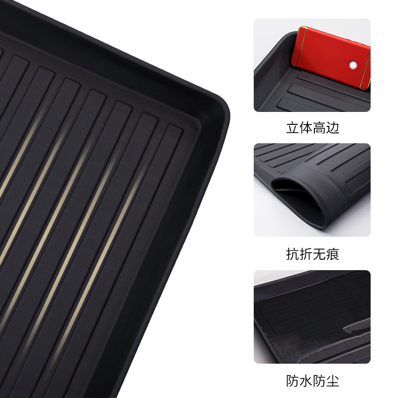 Myfmat custom trunk mats cargo liner mat for AUDI Q3 Q5 Q7 S3 S5 S6 SQ5 waterproof pads TPV rubber free shipping black cream hot
