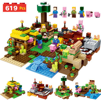 2018 NEW Technic My World Harvest Series Building Blocks Compatible LegoINGLYS Minecrafter Bricks Toys for Children Gift