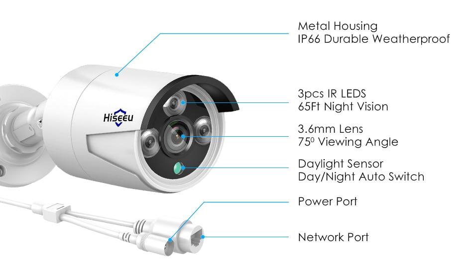 HTB1ofuObkH0gK0jSZPiq6yvapXaF Hiseeu 8CH POE NVR Kit HD 1080P CCTV Camera System 2MP Outdoor Waterproof IP Camera POE Home Security Video Surveillance Set