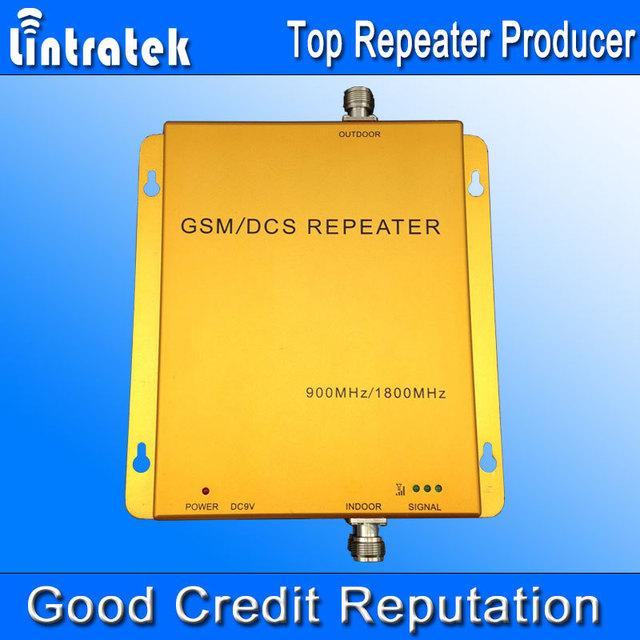 Repetidor GSM 900 1800 Amplificador de Señal de Teléfono Celular de Banda Dual 900 MHz 1800 MHz 70db Ganancia Repetidor GSM Amplificador 900 1800 S24