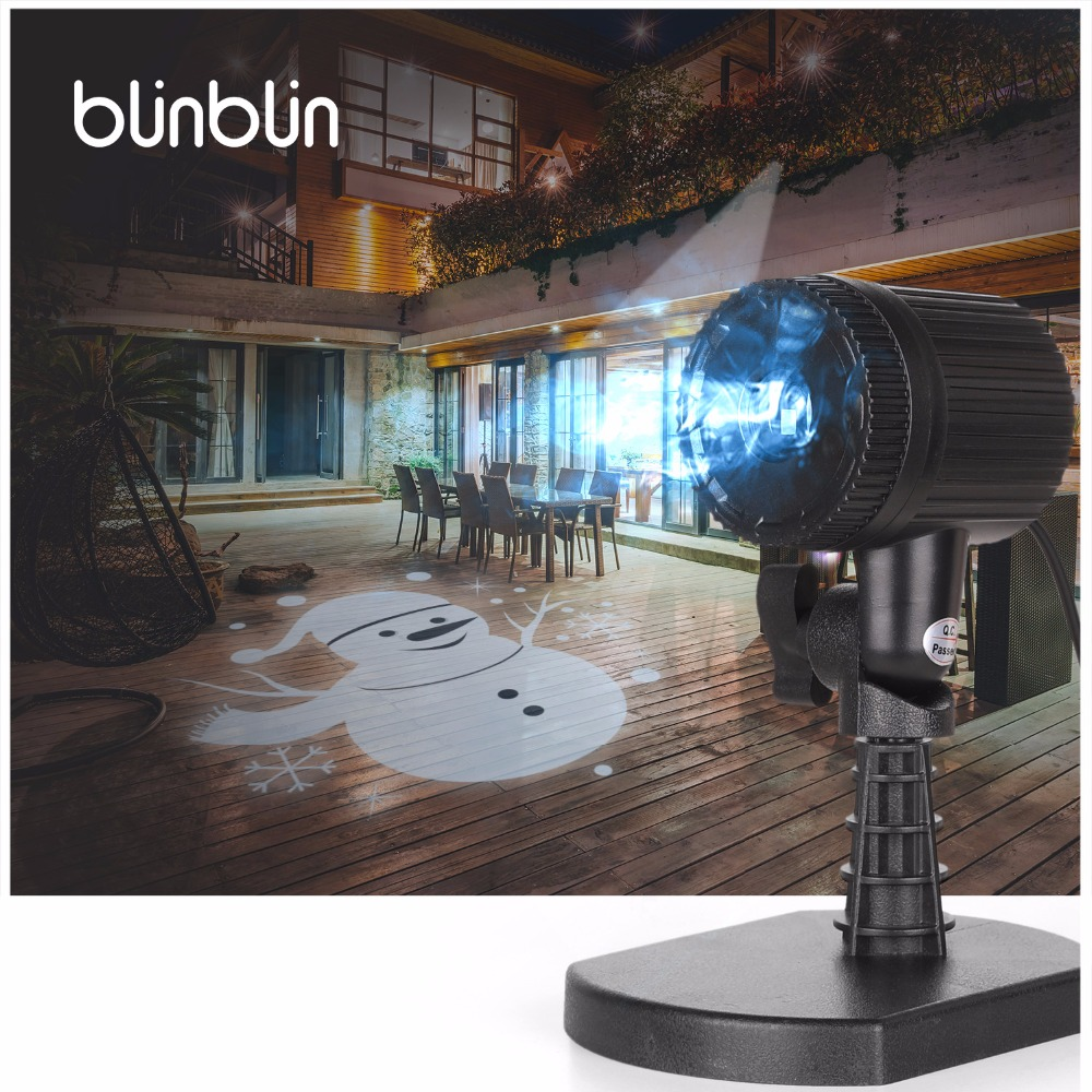 Blinblin OLAF snowman LED projection light Olaf Yeti festival Christmas atmosphere makes the courtyard lawn ceiling decoration stylish christmas snowman embroidery festival beanie for men and women