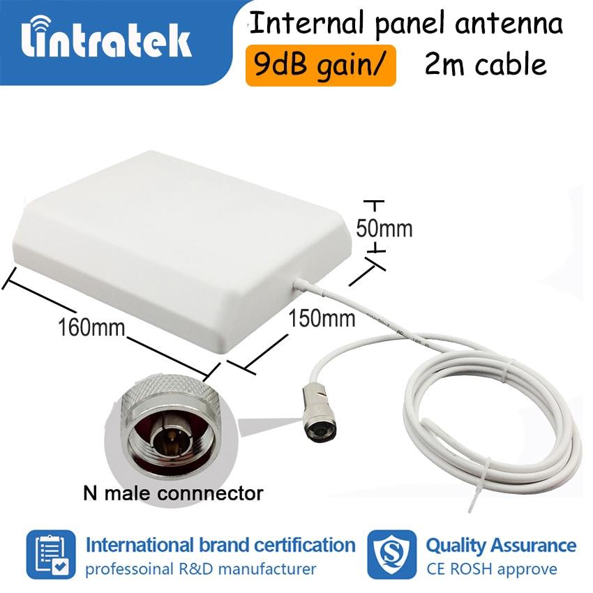 Lintratek GSM 900 1800 2G 4G double bande cellulaire Booster répéteur de Signal 900mhz DCS 1800mhz amplificateur données voix LTE ensemble complet dj - 5