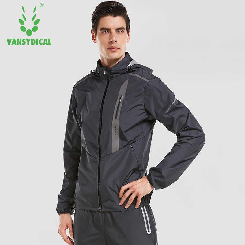 Vansydical мужские популярные спортивные куртки для бега фитнес топы Одежда для спортзала ветрозащитные велосипедные альпинистские спортивные куртки для активного отдыха