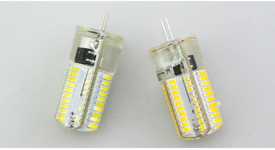 Silicone LED Corn Bulbs E11 E12 E14 E17 G4 G8 G9 LED Bulb Lamp 220V 110V  (21)