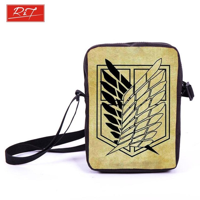 Anime Attack on Titan Mini Messenger Bag Schoolbag