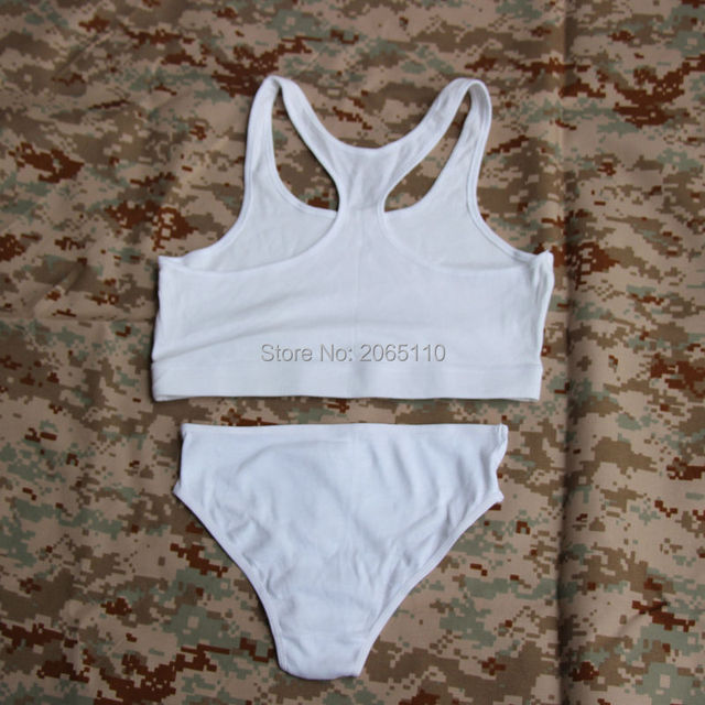 9b571fc15b874 Tactical 100% Cotton Military Quality women s underwear Sports Breathable  bra Vest Shorts  Underpants For Hunting