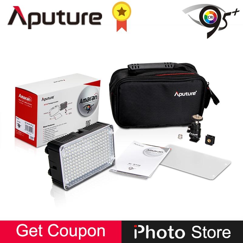 Aputure Amaran AL-H198 CRI95+ 5500K LED Panel Video Fill Light for Canon Nikon Sony SLR Camera DV Camcorder Photography Lighting