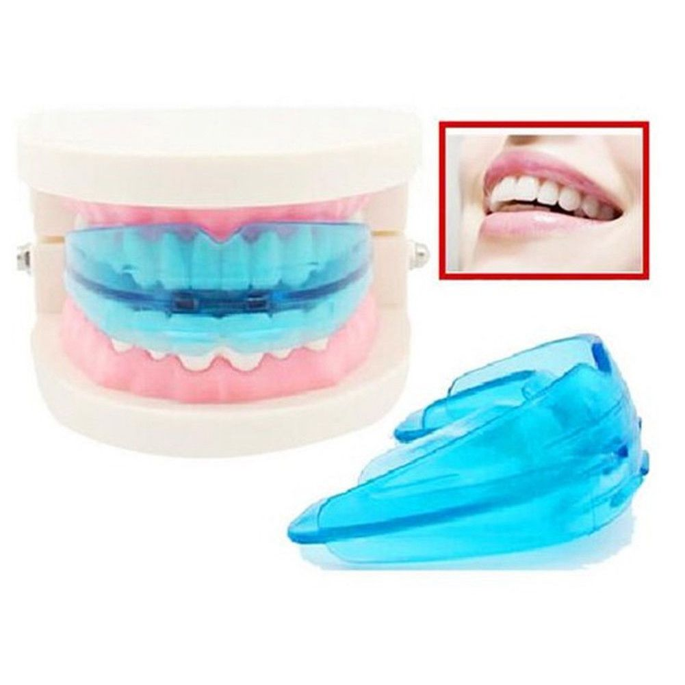 Dental Orthodontic Teeth Corrector Braces Tooth Retainer Straighten Tools Teeth Capped Blue