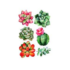 Image 2 - נייד Creative קיר מדבקות חמוד צמח מודבק עם דקורטיבי קיר חלון קישוט vinilos decorativos para פרדס