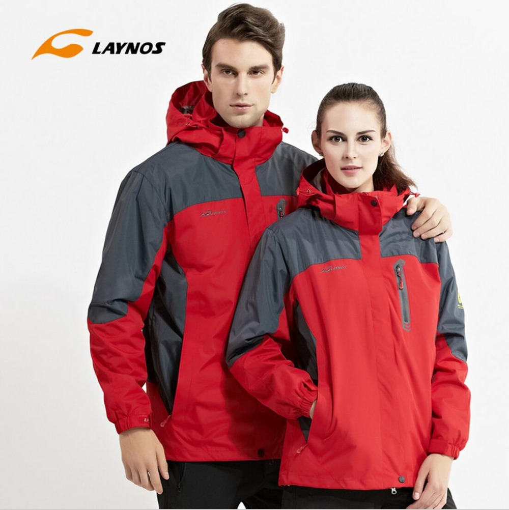 FreeShipping-2016 New Laynos Lovers Autumn/Winter Outdoor Waterproof Warm Camping Hiking 3in1 Two-piece Fleece Jackets 130A168A автоинструменты new design autocom cdp 2014 2 3in1 led ds150
