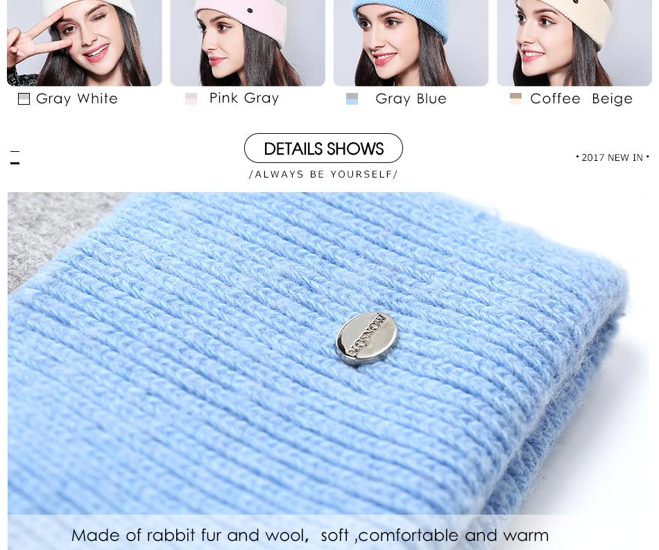 Winter Hat For Women MZ744 (5)