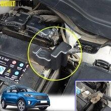 Для hyundai Creta IX25 Cantus- батарея двигателя отрицательный кабельный терминал ABS крышка наклейки оболочки крышки