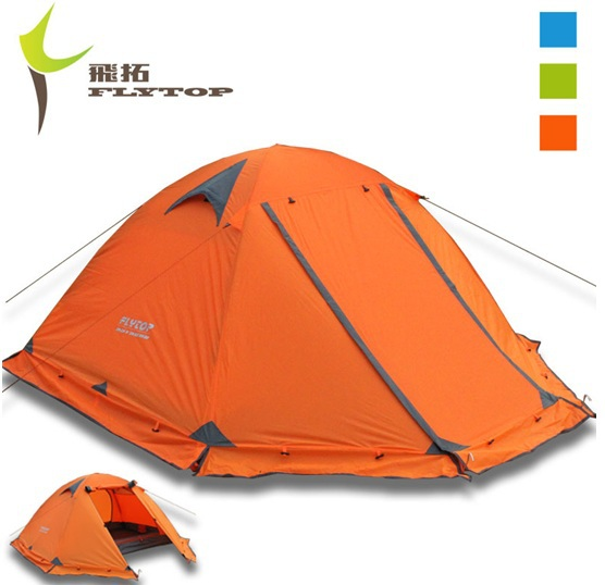 Double layer 2 person 4 four season Aluminum rod outdoor Winter c&ing tent with snow skirt  sc 1 st  AliExpress.com & Double layer 2 person 4 four season Aluminum rod outdoor Winter ...