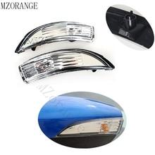 Для Ford Fiesta 2009 2010 2011 2012 2014 2013 правой и левой стороны заднего вида Зеркало поворотники для вспышка лампа