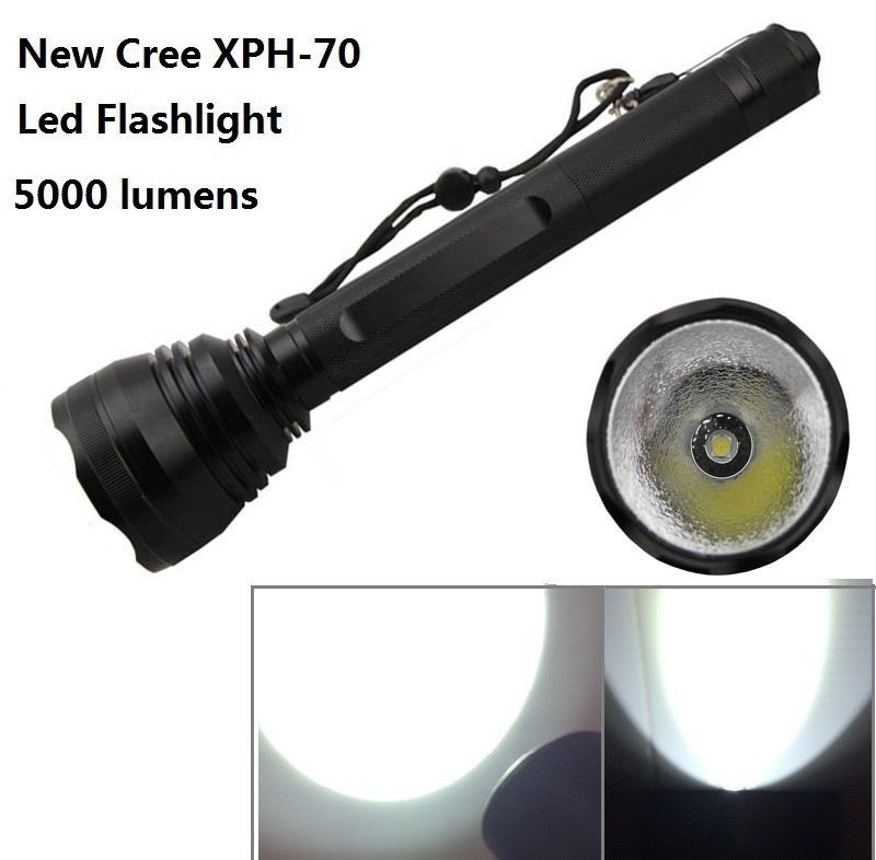 XPH-70 Led flashlight zhutu