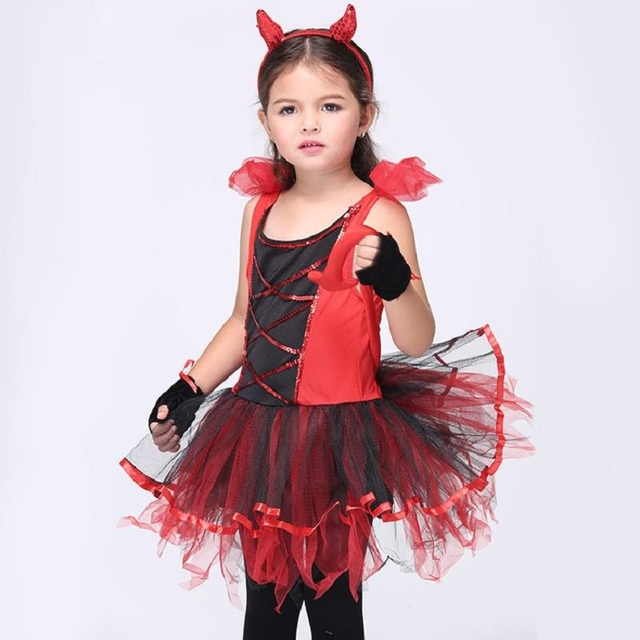 Fille Catwoman Robe Costume Halloween Costume Pour Enfants