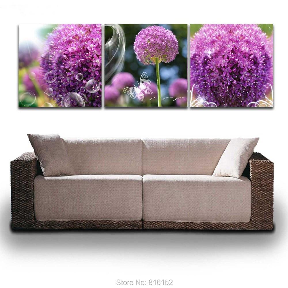 Online Buy Wholesale Purple Kitchen Decor From China: Online Buy Wholesale Foam Wall Art From China Foam Wall