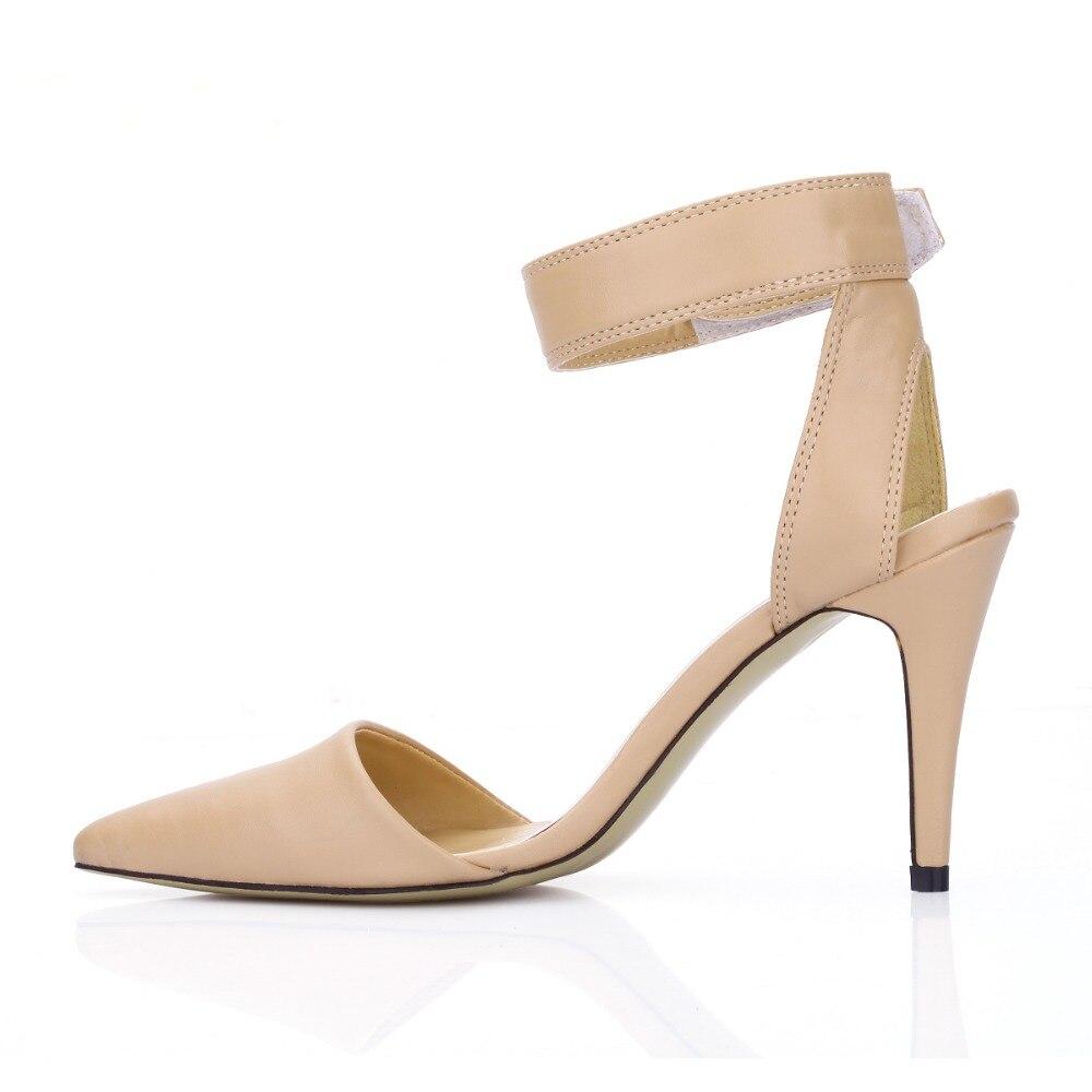 2018 Tacones Sexy Dedo Gladiador Nueva Puntiagudo Del Bombas Cerrada Mujer Altos Verano Zapatos Pie Sandalias Punta Slingbacks rRZIYHrq